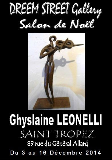 dalon noel peinture sculpture photo saint tropez