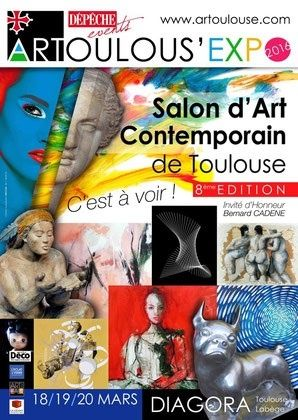stand 118  - Art Toulouse - Salon d'Art