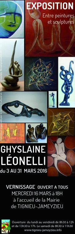 expo ghylaine leonelli -